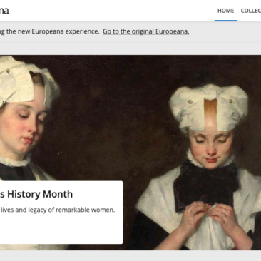 Europeana screenshot